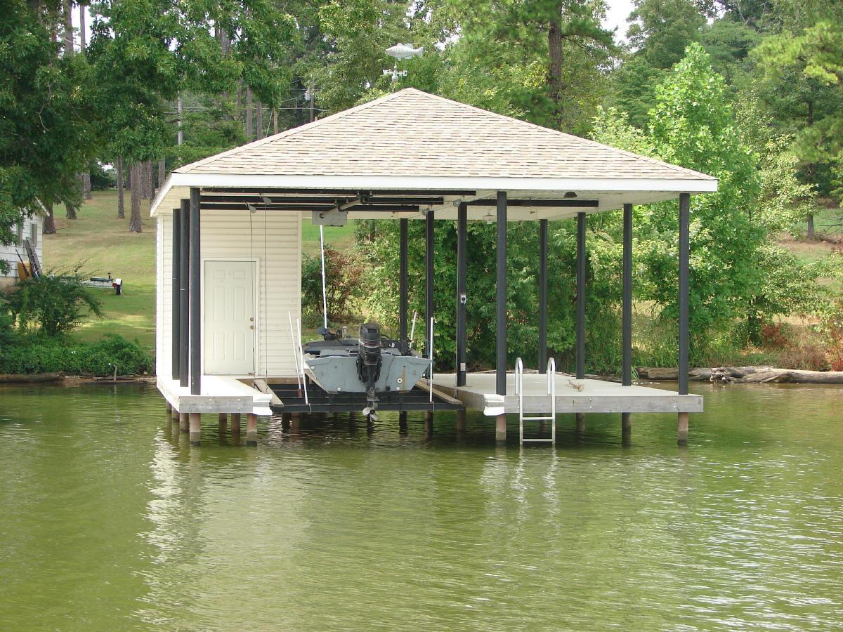 One Slip Boat Houses